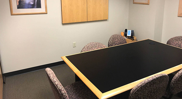 Small Conference Rooms Joined Together